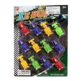 Vỉ 12 xe đua trớn LT68-689 VN ( 12 CHIẾC)