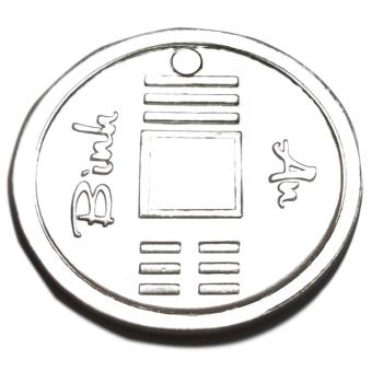Đồng xu bạc Bình An nguyên chất