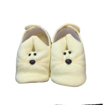 Giày chuột Hello B&B cho bé sơ sinh số 2 màu vàng