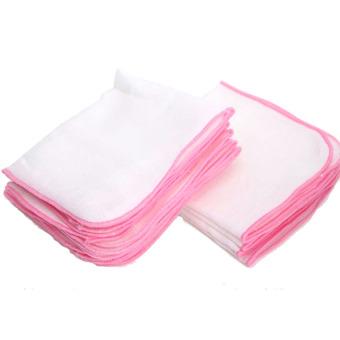 Bộ 2 bịch khăn sữa gạc lớn 3 lớp (26x35) Nanio A0093