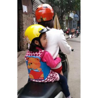 Đai an toàn cho bé đi xe máy hình gấu