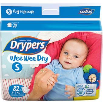 Tã dán Drypers Wee Wee Dry S.82 (3-7kg)