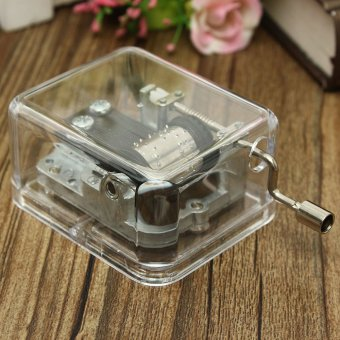 Many Songs Antique Sewing Machine Mechanical Music Musical Box Valentine Gift - intl