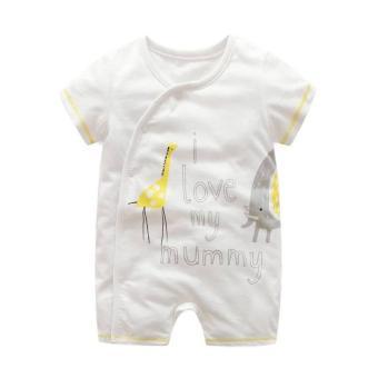 Body đùi First Movement size cho bé 3-18 tháng Giraffe I love my mummy