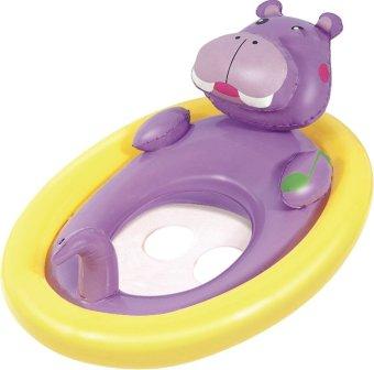 Phao bơi Bestway hình con thú chống lật 34058 (Gấu tím)