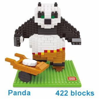 Bộ ghép hình LEGO STYLE - KUNGFU PANDA