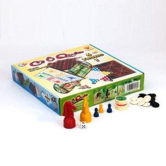 Đồ chơi CỜ Ô QUAN, gồm 6 bộ đồ chơi trong 1 hộp, phát triển tư duy, trí thông minh cho các bé