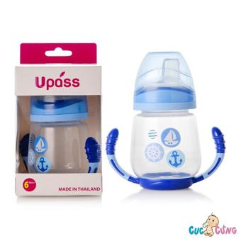 Ly tập uống UPASS 2 tay cầm với đầu hút silicone – UP0146NX (Xnah dương)