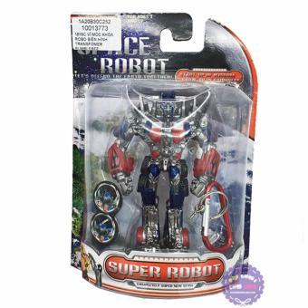 Vỉ đồ chơi móc khóa robot biến hình Transformer