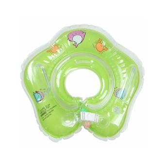 Phao Cổ Cho Bé Học Bơi Màu Xanh Lá- Giúp Bé Làm Quen Với Nước