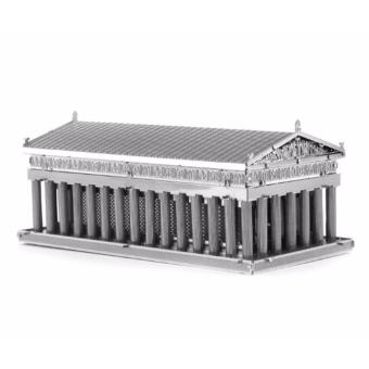 Xếp hình 3D kim loại thông minh ĐỀN PARTHENON ALCC(Xanh)