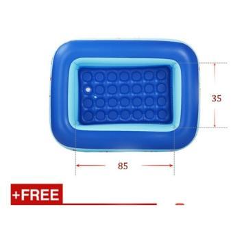 Bể bơi hơi trẻ em Swimming 115cm x 85cm x 35cm (Họa tiết)