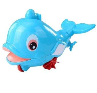 Cá heo biết bơi phun nước