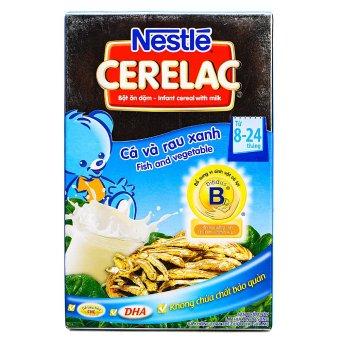 Bột ngũ cốc cá và rau xanh Nestle 200g