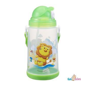 Bình uống nước Simba có nắp bật 650ml(Xanh lá nhạt)