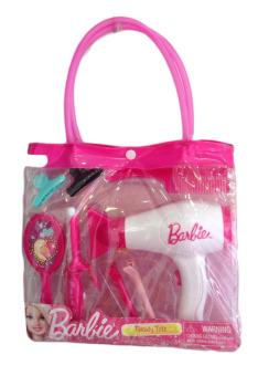 Bộ làm tóc công chúa Barbie (Hồng)