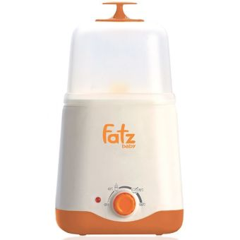 Máy hâm và tiệt trùng bình sữa đa năng Fatzbaby FB3011SL (Trắng phối cam)