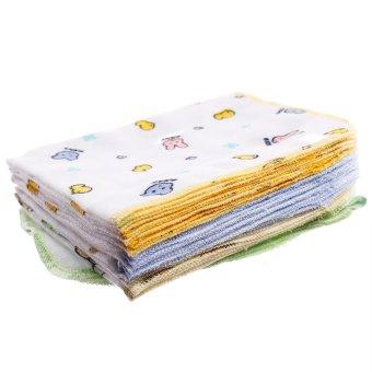 Bộ 8 khăn sữa Thái Lan Babyhouse