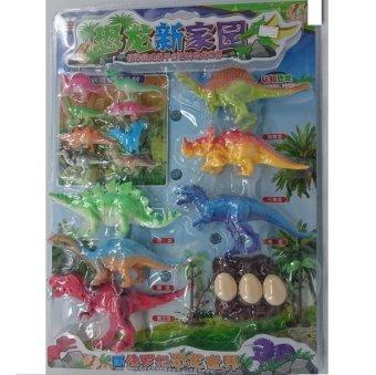 Vỉ đồ chơi CÔNG VIÊN KHỦNG LONG bằng nhựa dẻo