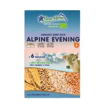 Bột pha sữa Organic đêm Alpine 200gr