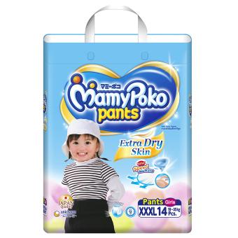Tã quần Mamy Poko XXXL14 (Girl)