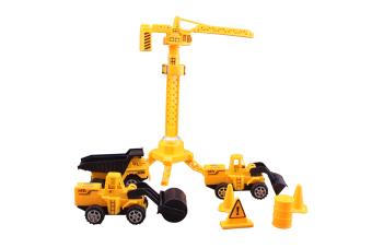 Bộ Đồ Chơi Mô Hình Công Trường Dream Toy USA2737
