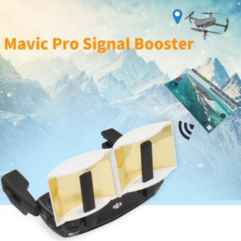Remote control Signal Extender Amplifier Antenna Range Booster for DJI Mavic Pro White - intl
