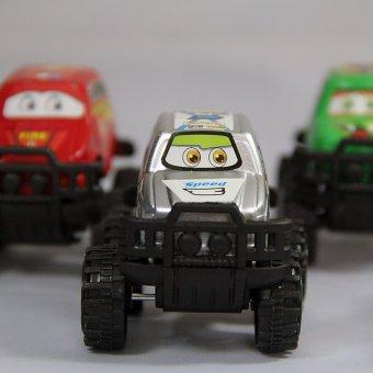 Bộ 6 xe ô tô thể thao chạy đà BH1602017