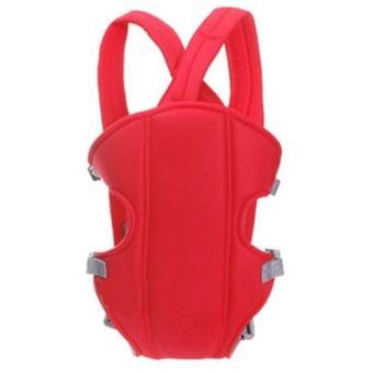 đai địu em bé 4 tư thế Baby Carrier (Đỏ)