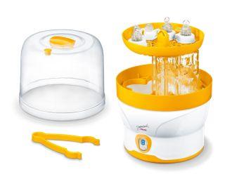 Máy tiệt trùng bình sữa Beurer BY76 (Trắng phối vàng)