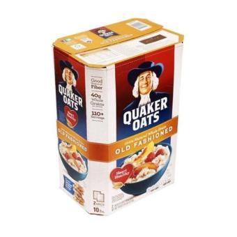 Yến mạch nguyên hạt Quaker Oats Old Fashioned 4.52 kg