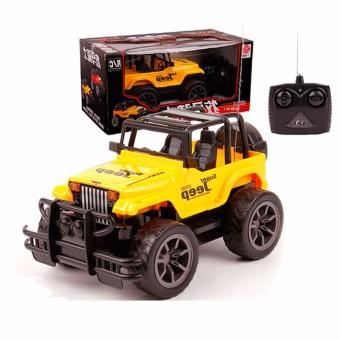 Bộ Xe Jeep địa hình điều khiển từ xa