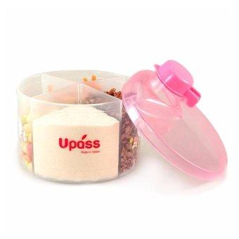Hộp Chia Sữa Tròn 4 Ngăn Không BPA Upass UP8005