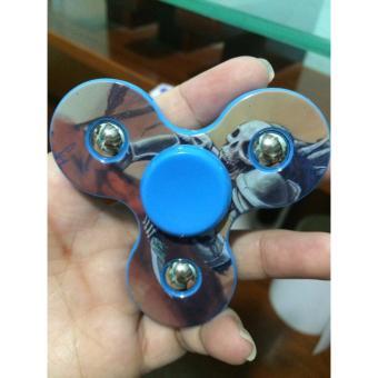 Đồ chơi con quay 3 cánh bi toys ( xanh dương hình siêu nhân )