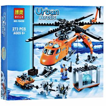 Bộ xếp hình Urban - Máy bay thám hiểm vùng bắc cực
