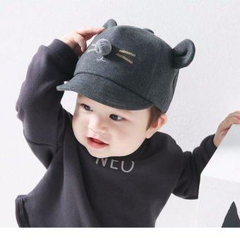 Mũ, nón cho bé thời trang 2017 (Nâu)