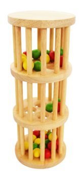 Đồ chơi gỗ tháp bi nhiều màu