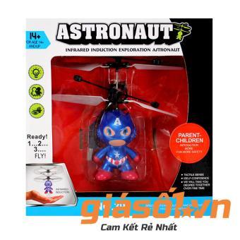 Máy bay cảm ứng Nhím Sonic - 002 có remote (Xanh)
