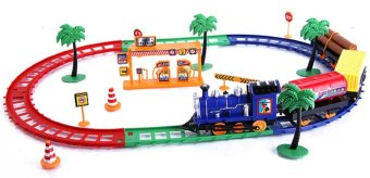 Bộ đồ chơi tàu lửa cho bé phát triển trí tuệ