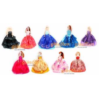 Bộ 9 đồ chơi búp bê Babrie cho bé (Nhiều màu)