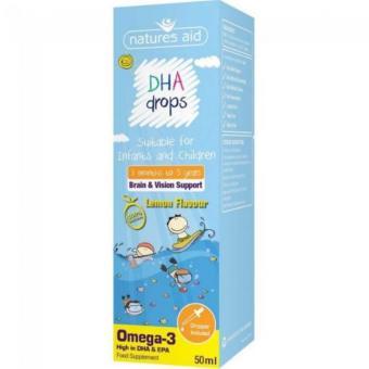 DHA Drops 50ml dạng giọt cho bé từ 3 tháng đến 5 tuổi
