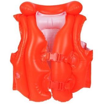 Áo phao màu đỏ Intex 58671