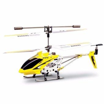 Máy bay trực thăng ALLOY HELICOPTER ( Vàng)