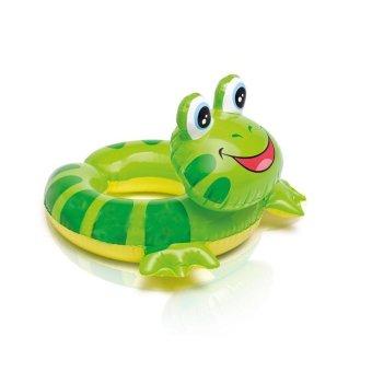 Phao bơi Intex hình chú ếch xanh