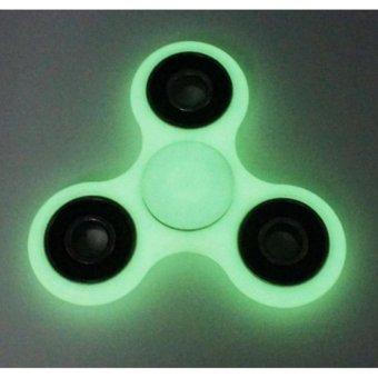 Đồ Chơi Giúp Xả Stress Fidget Spinner DẠ QUANG ( Đỏ nhạt)