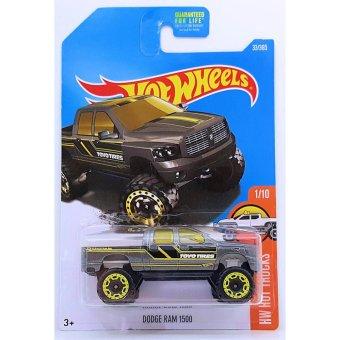 Xe mô hình tỉ lệ 1:64 Hot Wheels 2016 Dodge Ram 1500 - Xám