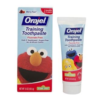 Kem đánh răng ORAJEL Berry Fun nuốt được cho trẻ em 42.5g