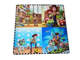 Thảm xốp trẻ em 4 miếng 60x60cm hoạt hình 10