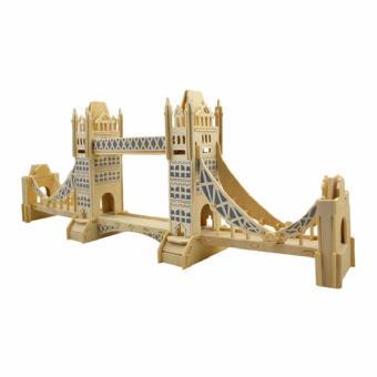 Bộ xếp hình 3D mô hình cầu tháp London - Tower Bridge
