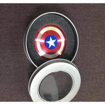 on Quay siêu anh hùng bằng kim loại Fidget Spinner không ma sát xả stress -kstore
